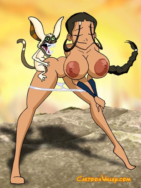 katara with big boobs